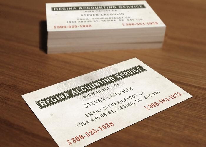 Regina Accounting Service - Identity