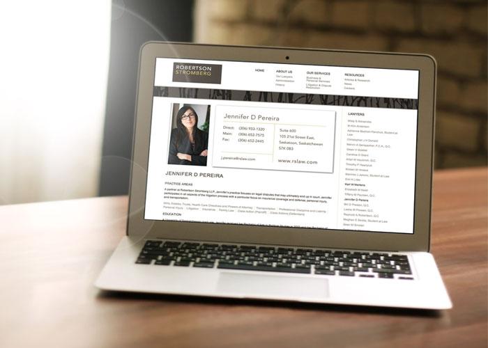 Robertson Stromberg LLP - website